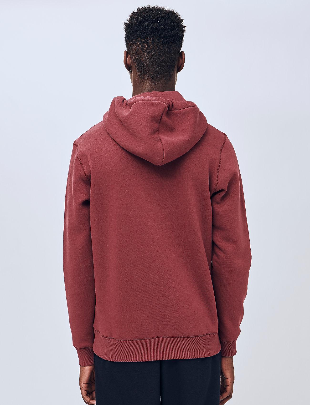 Soulland - Googie hoodie - hoodies - burgundy - 3