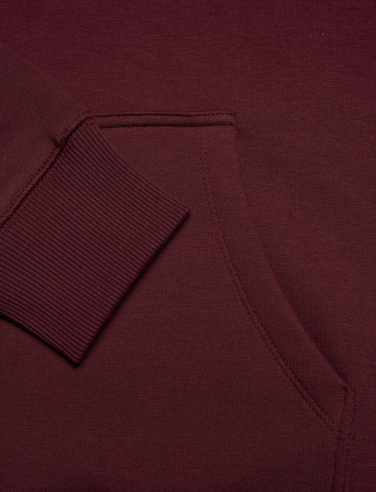 Soulland - Googie hoodie - hoodies - burgundy - 5