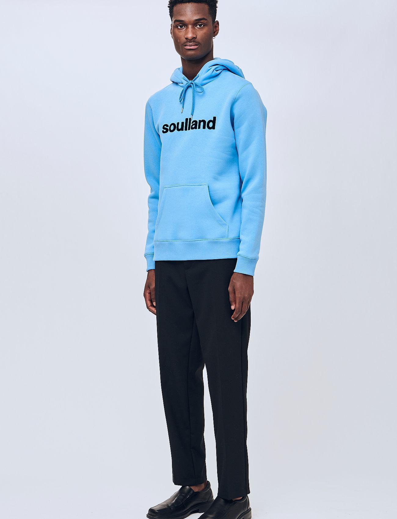 Soulland - Googie hoodie - hoodies - light blue - 0
