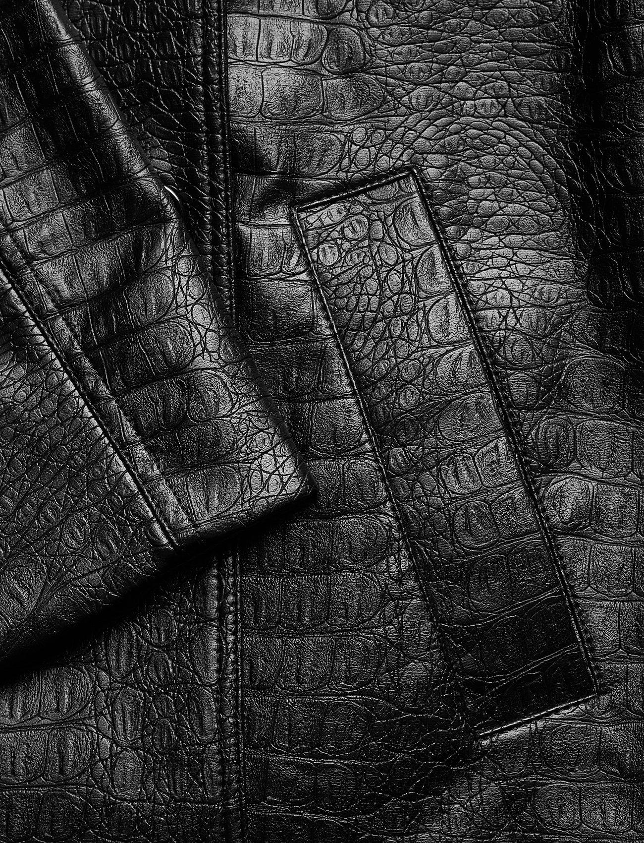 Soulland - Lena jacket - lederjacken - black - 3