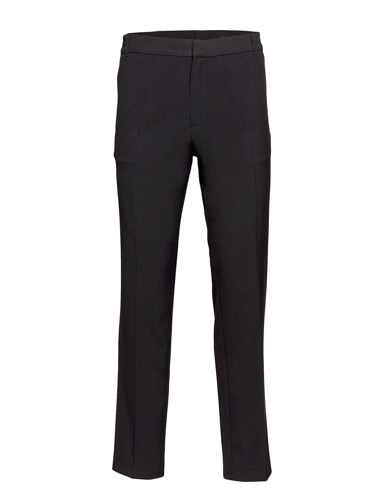 Soulland WILSON CLASSIC SUIT PANT - BLACK