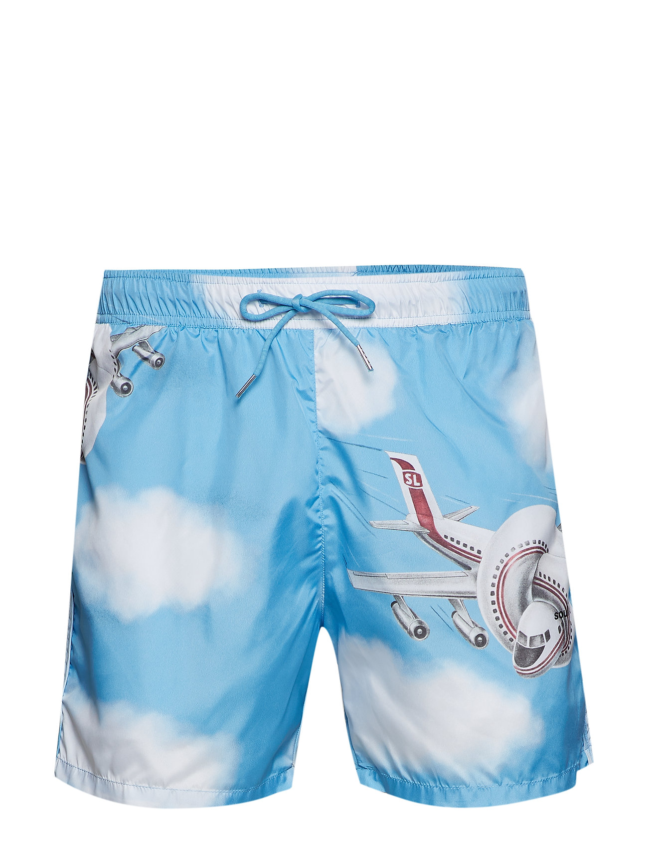 Soulland WILLIAM ALL OVER PRINTED SWIM SHORTS - MULTI