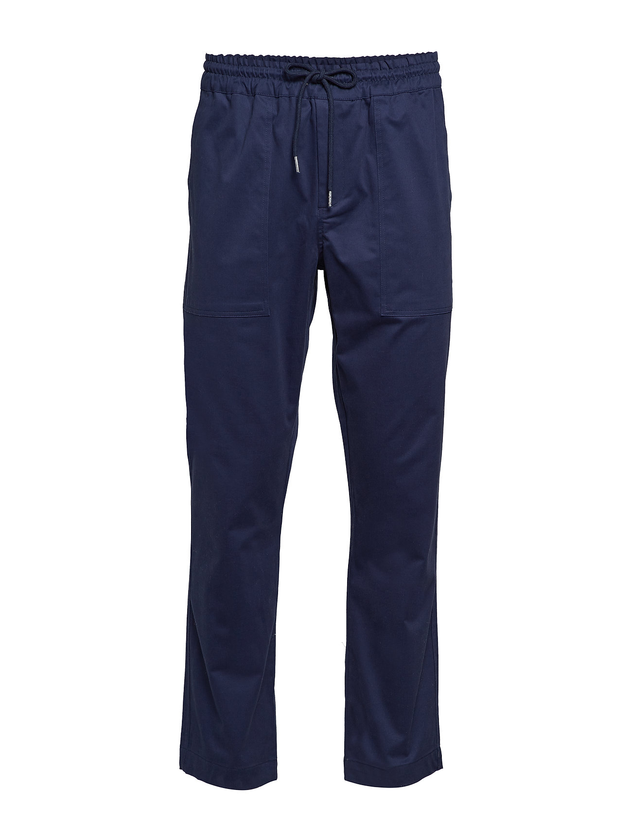 Soulland POPPE RELAXED PANT - NAVY