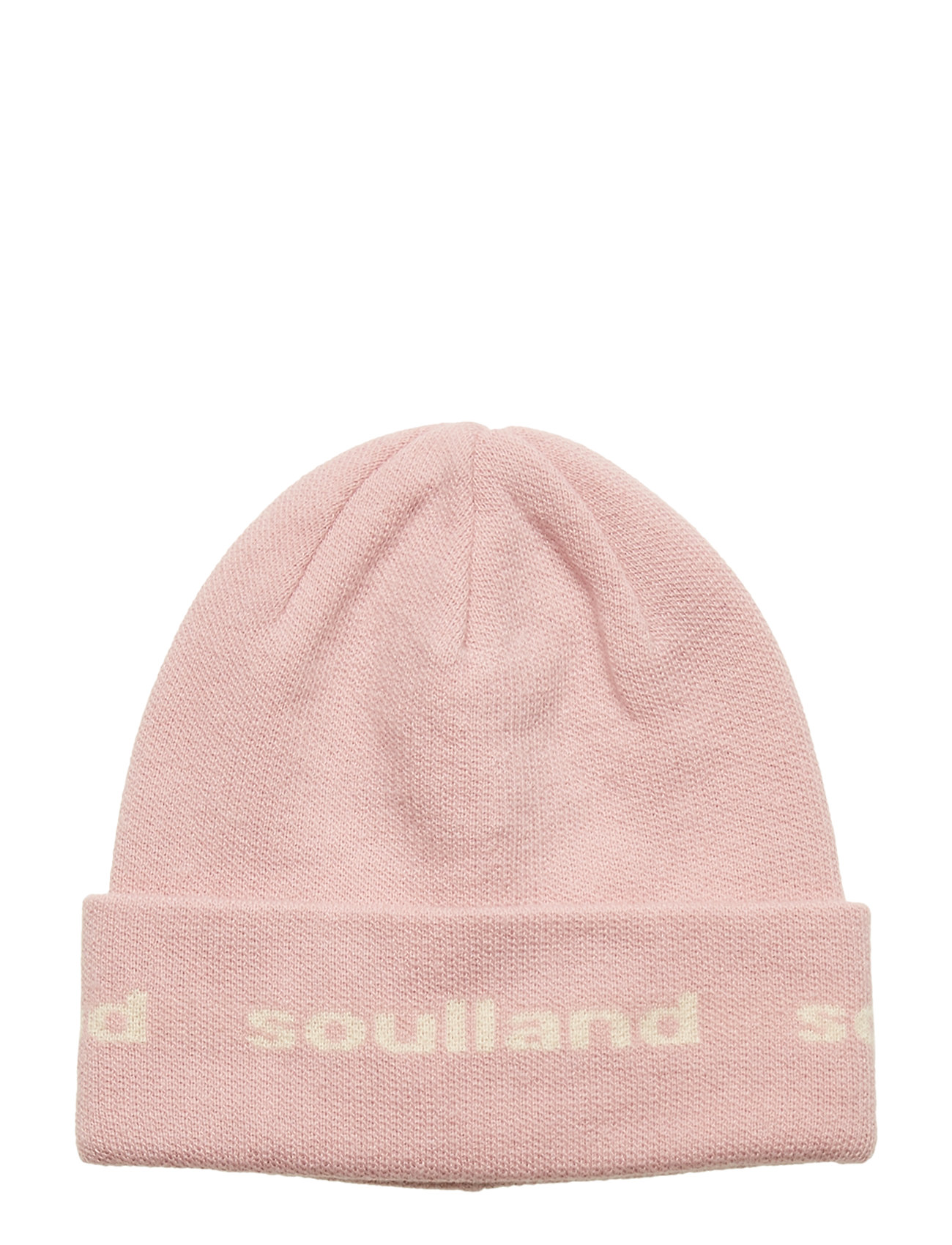 Soulland YOUNGBANG RECYCLE BEANIE - PINK
