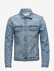 Soulland - SHELTON  DENIM JACKET - kurtki dżinsowe - light blue - 0
