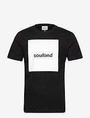 Soulland - MASON - t-shirts - black - 1