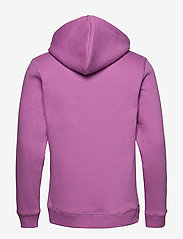 Soulland - LOGIC GOOGIE  HOODED SWEAT W. FRONT FLOCK PRINT - pulls a capuche - purple - 1