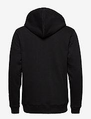 Soulland - LOGIC WALLANCE HOODED SWEAT W. FRONT PRINT - sweats basiques - black - 2
