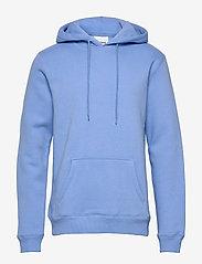 Soulland - LOGIC WALLANCE HOODED SWEAT W. FRONT PRINT - sweats basiques - blue - 0