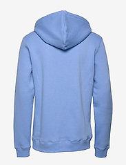 Soulland - LOGIC WALLANCE HOODED SWEAT W. FRONT PRINT - sweats basiques - blue - 1
