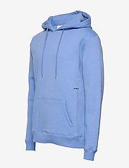 Soulland - LOGIC WALLANCE HOODED SWEAT W. FRONT PRINT - sweats basiques - blue - 2