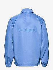 Soulland - Strugat jacket - kurtki bomber - blue - 1