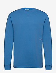 Soulland - Noah long sleeve T-shirt - t-shirts basiques - light blue - 1