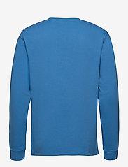 Soulland - Noah long sleeve T-shirt - t-shirts basiques - light blue - 2