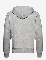 Soulland - Wilme hoodie - sweatshirts & hættetrøjer - grey melange - 1