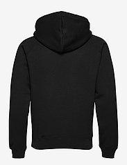 Soulland - Flower hoodie - sweats à capuche - black - 2