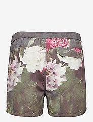 Soulland - William shorts - casual shorts - green aop - 2