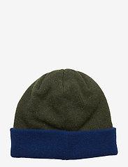 Soulland - VILLY BEANIE - bonnet - green/navy - 1