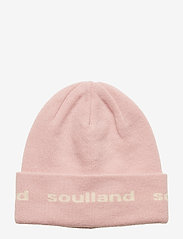 Soulland - YOUNGBANG RECYCLE BEANIE - chapeaux - pink - 0