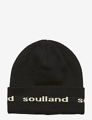 Soulland - YOUNGBANG RECYCLE BEANIE - czapka - black - 0