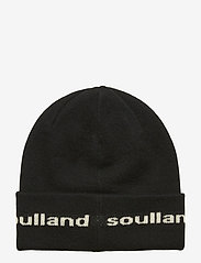 Soulland - YOUNGBANG RECYCLE BEANIE - pipot - black - 1