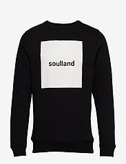 Soulland - ETHAN - sweatshirts - black - 0