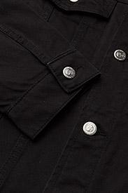 Soulland - SHELTON  DENIM JACKET - kurtki dżinsowe - black - 3