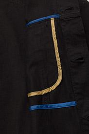 Soulland - SHELTON  DENIM JACKET - kurtki dżinsowe - black - 5
