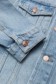 Soulland - SHELTON  DENIM JACKET - kurtki dżinsowe - light blue - 3