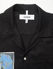 Soulland - Joe - overshirts - black - 3