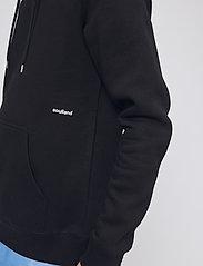 Soulland - LOGIC WALLANCE HOODED SWEAT W. FRONT PRINT - sweats basiques - black - 3