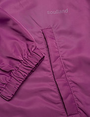 Soulland - Strugat jacket - bomberjackor - purple - 2