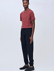 Soulland - Coffey T-shirt - t-shirts basiques - burgundy - 0
