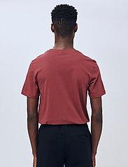 Soulland - Coffey T-shirt - t-shirts basiques - burgundy - 3