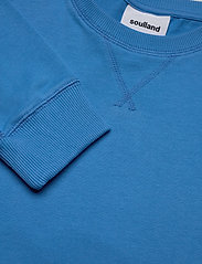 Soulland - Noah long sleeve T-shirt - t-shirts basiques - light blue - 4