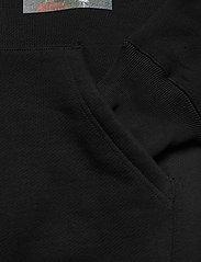 Soulland - Flower hoodie - sweats à capuche - black - 5