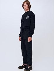 Soulland - Frey pants - spodnie na co dzień - black - 0