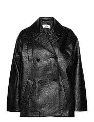 Lena jacket - BLACK