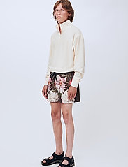 Soulland - William shorts - casual shorts - green aop - 0