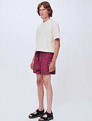 Soulland - William shorts - short décontracté - purple aop - 0