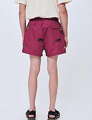 Soulland - William shorts - short décontracté - purple aop - 3