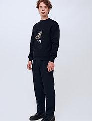Soulland - Zodiac sweatshirt - sweats - black - 0