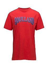 Ozzel t-shirt w.print - RED