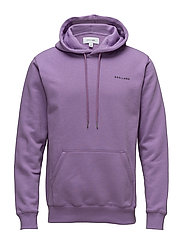 Wallance hooded sweat w. front pocket - VIOLET