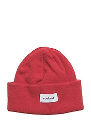 AW18 VILLY BEANIE - BLOOD RED