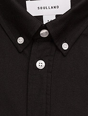 Soulland - GOLDSMITH - business shirts - black - 4