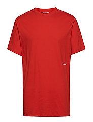 Logic Coffey T-shirt W.print - RED