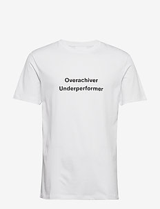 Leroy - short-sleeved t-shirts - white