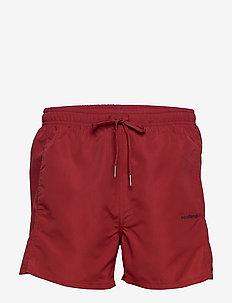 William - shorts - red