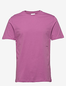 LOGIC COFFEY T-SHIRT W.PRINT - perus t-paidat - purple